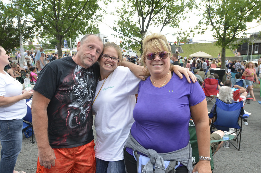 Description of . J.S.Carras/The Record   during Rockin on the River Wednesday, June 18, 2014 along River Street  in Troy, N.Y..
