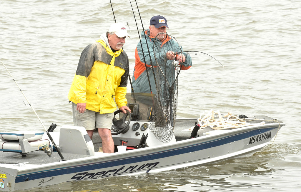 . The Troy 9th annual Ale House Striped Bass tournament, Saturday May 3, 2014 (Mike McMahon - The Record)