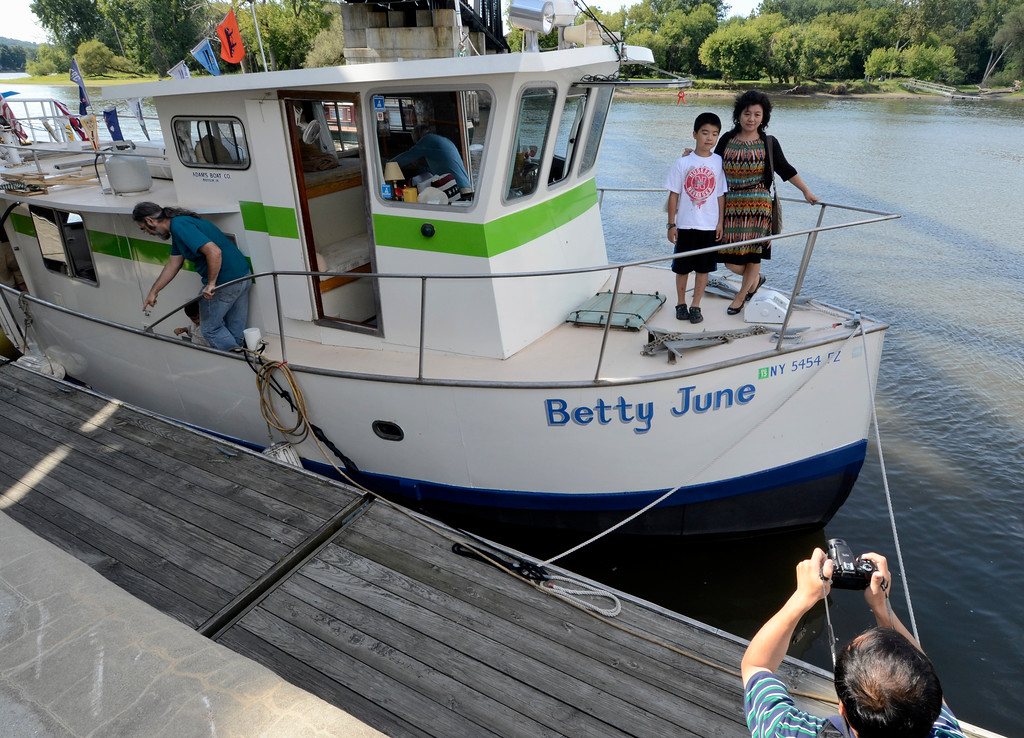 . Waterford\'s Tugboat Roundup .Saturday 09/07/13 (Mike McMahon/The Record)