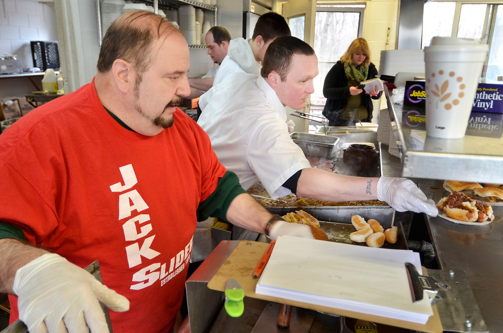 . Mike McMahon - The Record, Jack\'s Drive-In opens for it\'s 76th season in Wynantskill, Wednesday March 13, 2014.