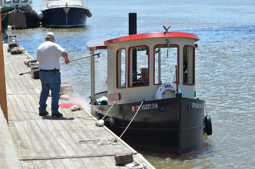 . J.S.CARRAS/THE RECORD  during Steamboat Meet Saturday, July 5, 2014 at Waterford Visitors Harbor in Waterford, N.Y..