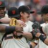 APTOPIX Padres Giants Baseball